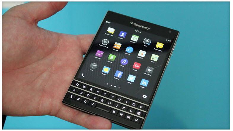 Blackberry Passport phone