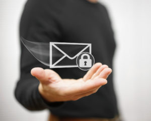 Secure email illustration