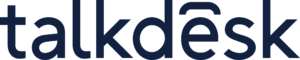 talkdesk logo.
