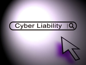 Cyber Liability Insurance Data Cover 2d Illustration