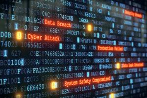 cyber attack data breach illustration