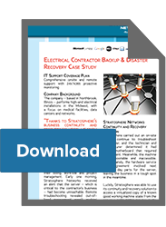 Electrical Contractor Backup & Disaster Recovery Case Study