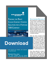 Trusted Advisor Services for a Fortune 100 Company