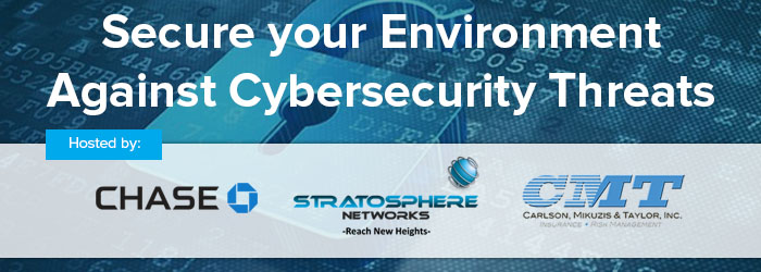 Cybersecurity Threats banner