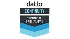 Datto Tech Specialist II
