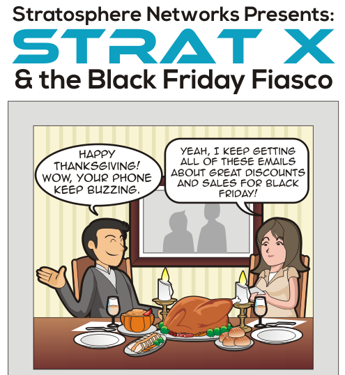 The Black Friday Fiasco Comic