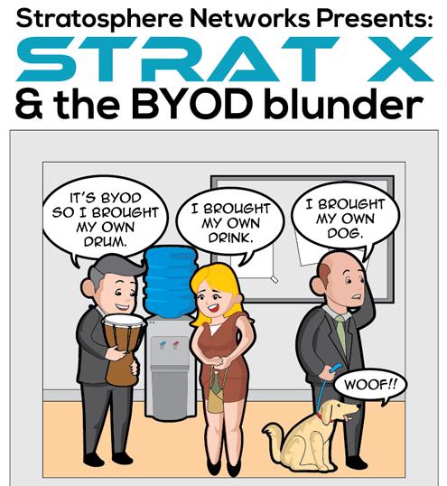 BYOD Services Comic