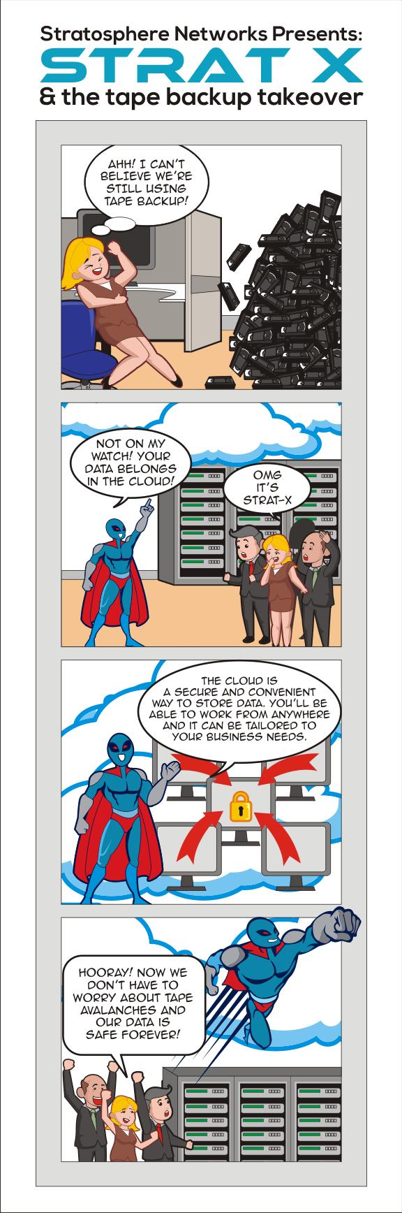Cloud Services Comic