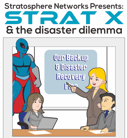 Backup Disaster Recovery Comic
