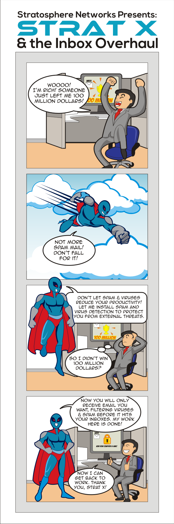 Email Protection Comic